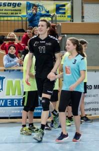 Einlaufkinder beim Volleyball